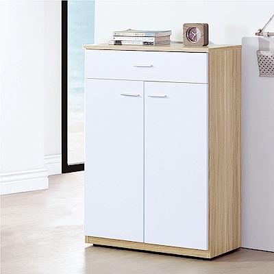 品家居  迪可夫2尺木紋二門鞋櫃-五色可選-60x32x92cm免組