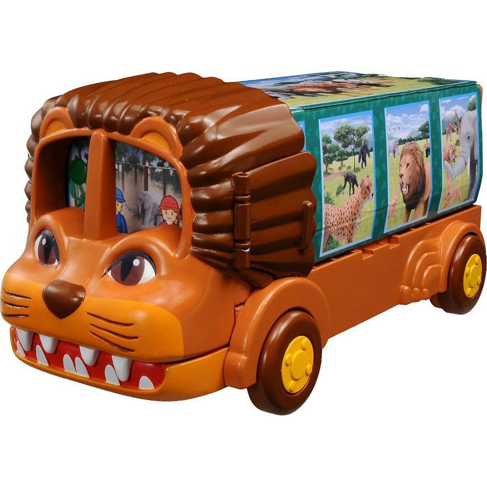 TOMICA多美動物園獅子遊園車