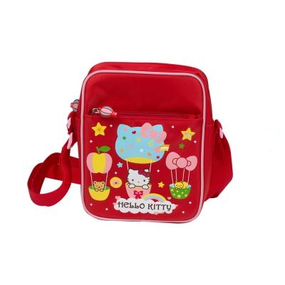 Sanrio HELLO KITTY童用側肩背包(繽紛熱氣球)