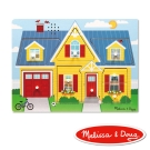 美國瑪莉莎 Melissa & Doug 聲音拼圖 - 情境聲音 , 房子