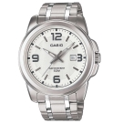 CASIO 簡約經典時尚指針日曆腕錶(MTP-1314D-7A)白面/44.9mm