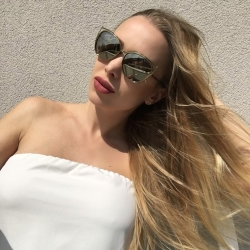 MICHAEL KORS太陽眼鏡 歐美貓眼款/銀-白水銀#MK1020 11666G
