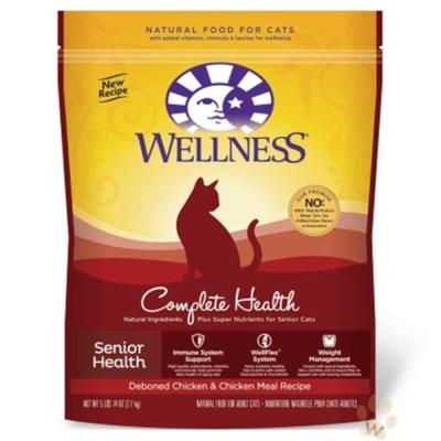 【下殺69折】Wellness 熟齡貓 特調照護食譜6磅