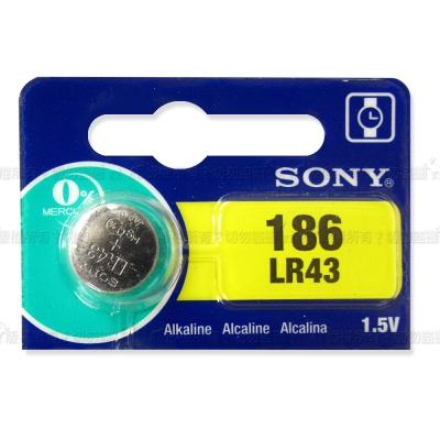 SONY 鈕扣型電池 LR43 (5入)