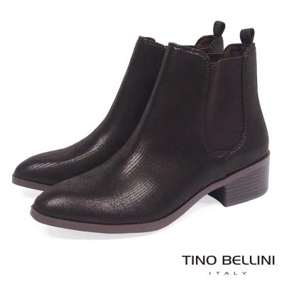 Tino Bellini 英式經典時髦切爾西靴_深咖