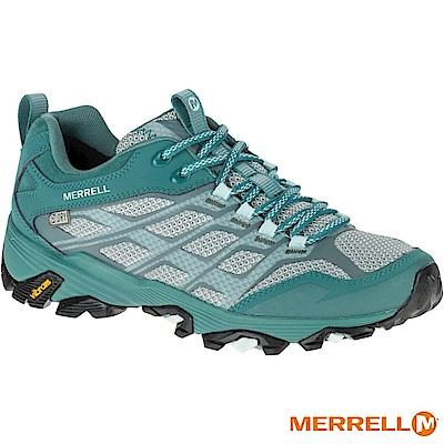 MERRELL MOAB FST WP 登山女鞋-綠(37560)
