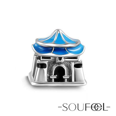 SOUFEEL索菲爾 925純銀珠飾 台灣中正紀念堂 串珠