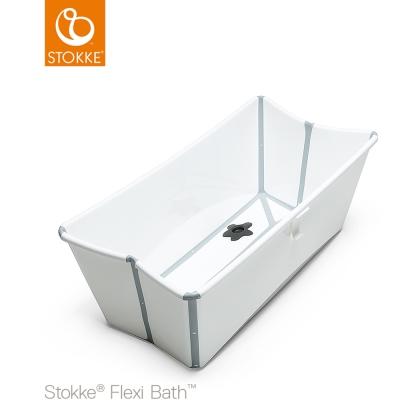 奇哥 STOKKE Flexi Bath 摺疊式浴盆-白色