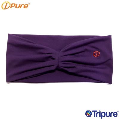 yoga i-pure熱身瑜珈頭巾-紫色