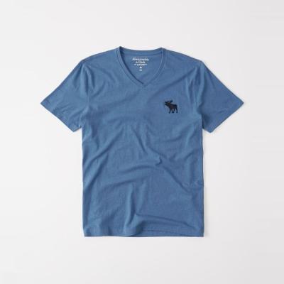 AF a&f Abercrombie & Fitch 短袖 T恤 藍色 310