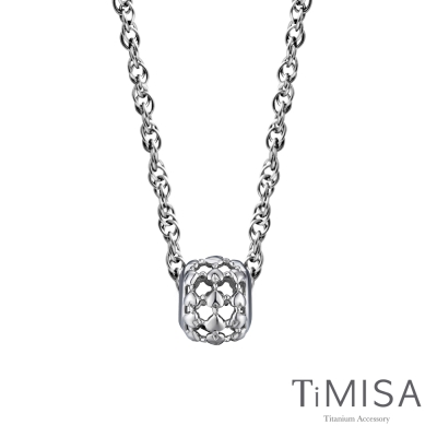TiMISA 心相隨  純鈦串飾項鍊(SB)