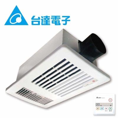 台達電子暖風機-雙聯線控型-VHB37ACT2