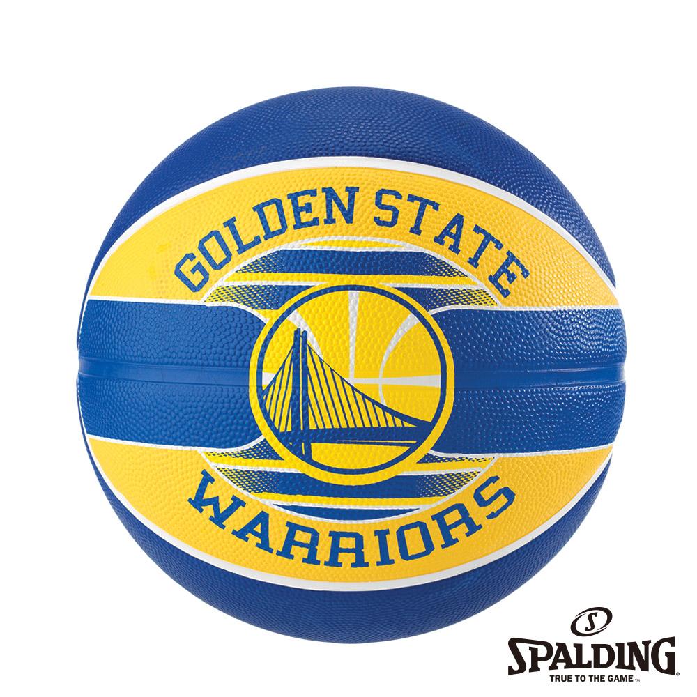 SPALDING 斯伯丁 NBA 隊徽球 勇士 Warriors 籃球 7號