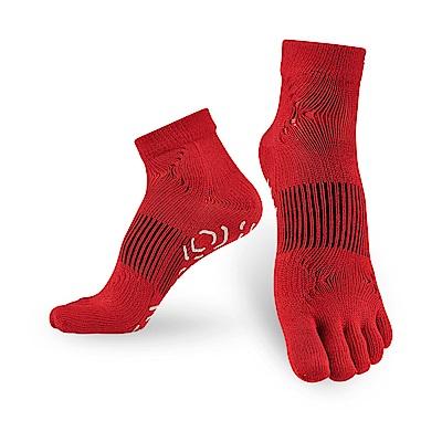 【Titan】太肯五趾功能訓練襪_紅_2雙(適合慢跑、健身房項目)