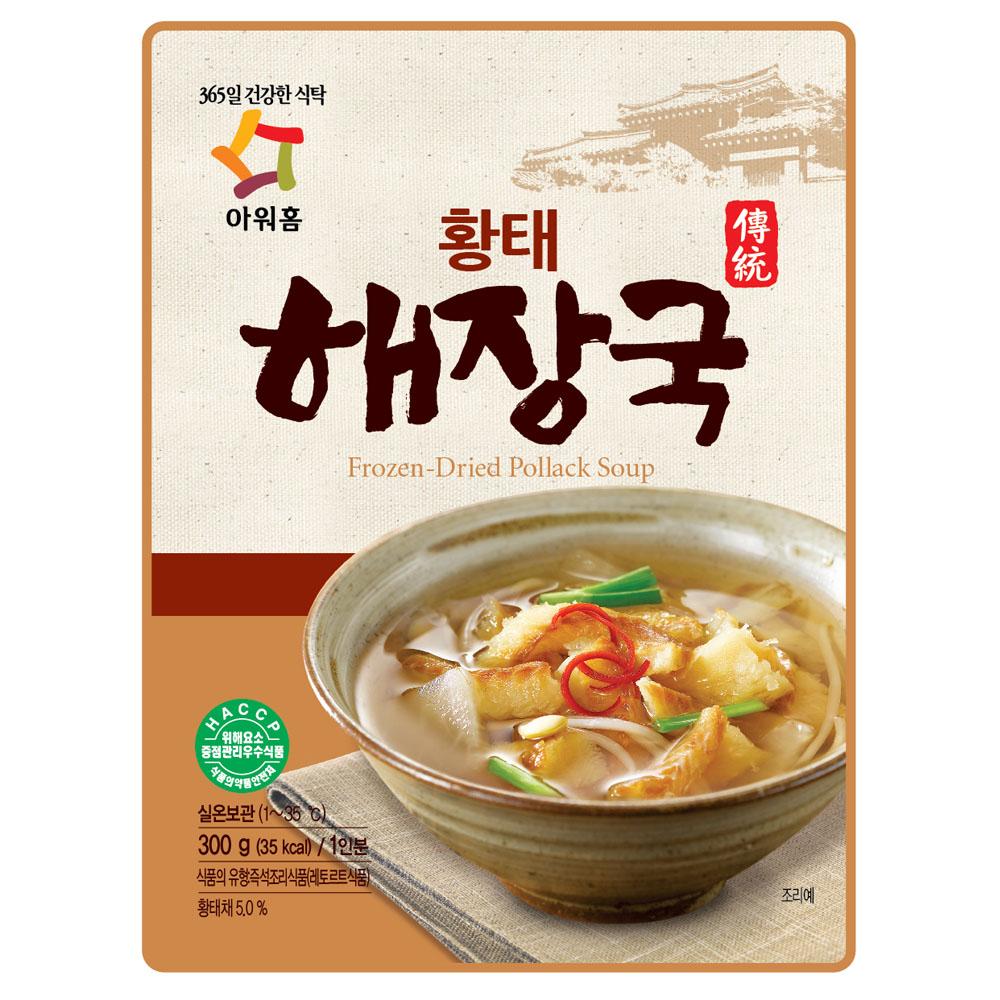韓味不二 our home黃太魚湯(300g)