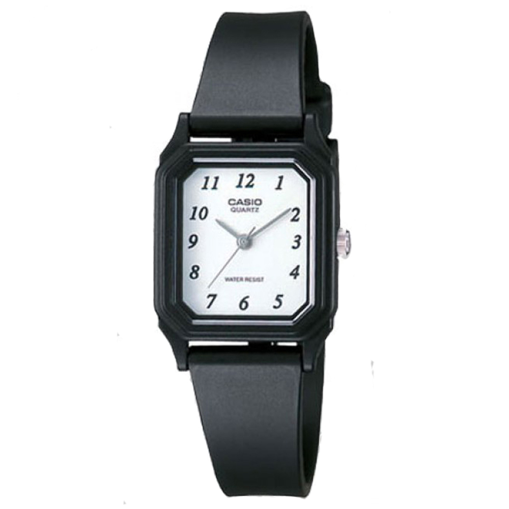 CASIO 經典方形腕錶(LQ-142-7B)-白/22mm
