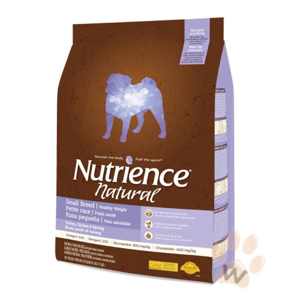 美國Nutrience紐崔斯 Natural減肥犬火雞肉5kg 1入