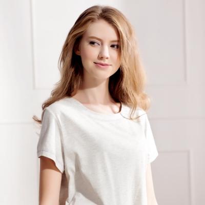 羅絲美睡衣 -甜蜜愛麗絲短袖褲裝睡衣(氣質灰)
