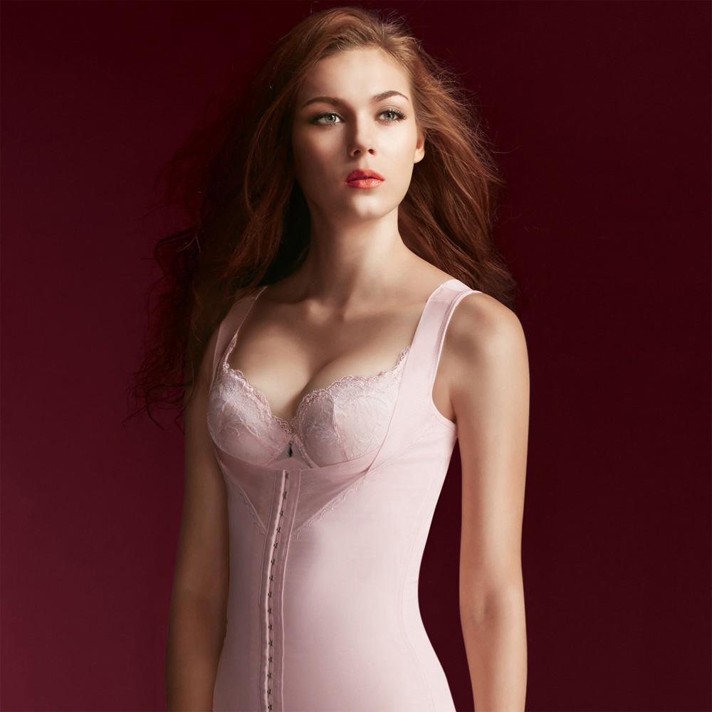 華歌爾-美姿極塑衣64-82塑身衣(裸粉)