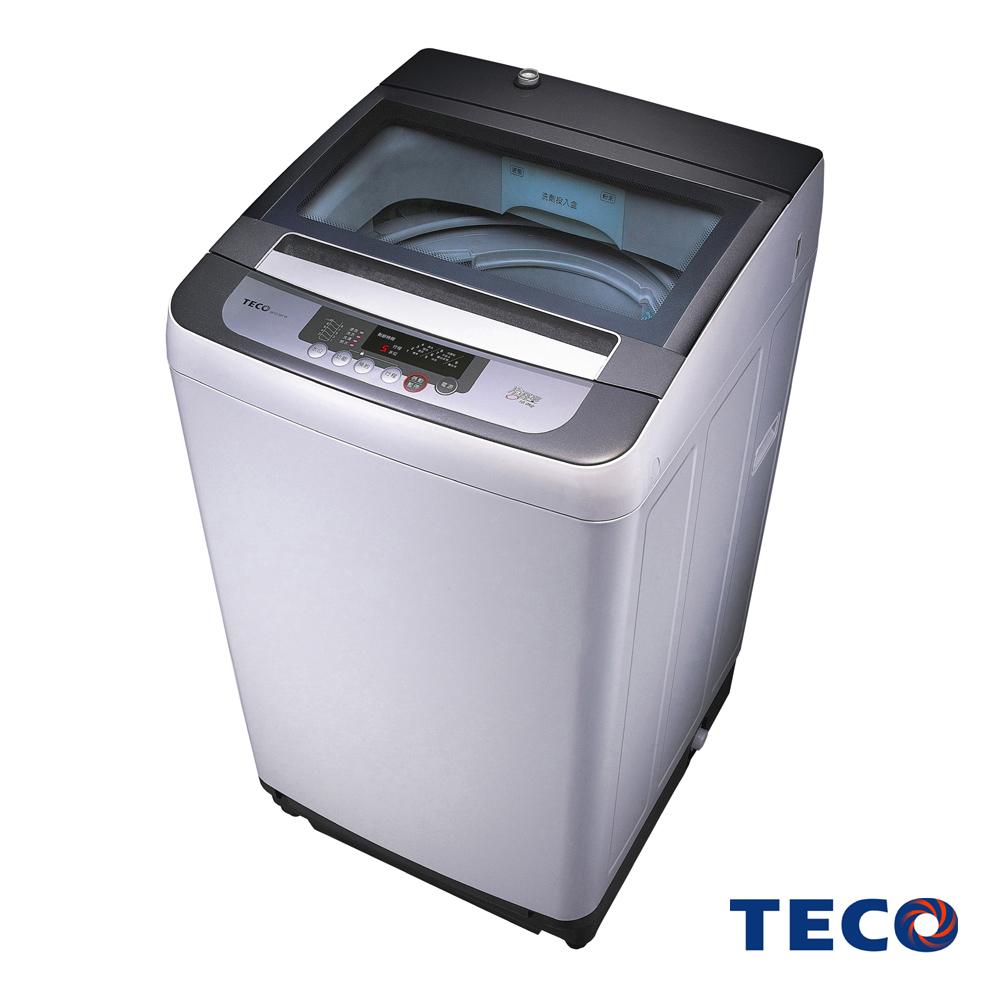 TECO東元 10公斤FUZZY人工智慧小蠻腰定頻洗衣機W1038FW