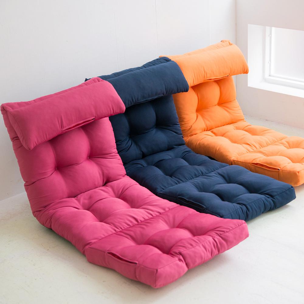 完美主義 頭靠舒壓款多功能和室椅/沙發床(3色可選)