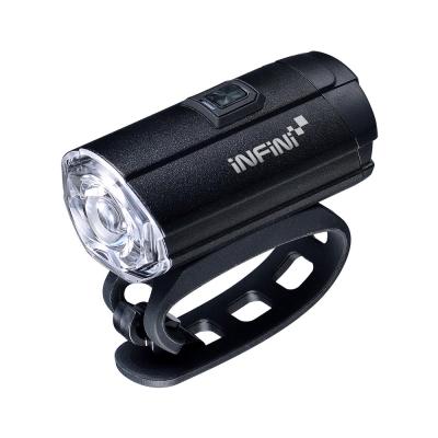 INFINI TRON 300 I-281P 白光USB充電式前燈 黑色