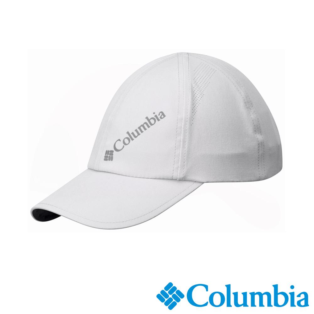Columbia 哥倫比亞 男女-防曬30防潑快排棒球帽- 白UCL90160WT