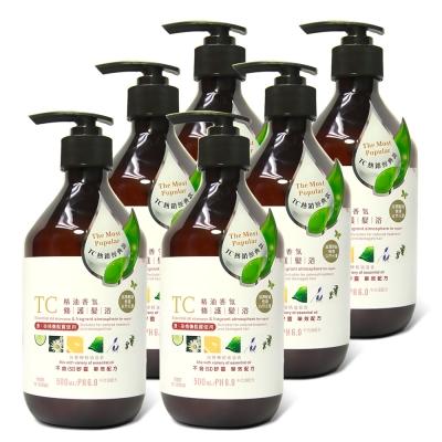 TC系列 精油香氛修護髮浴(500ml)6入組