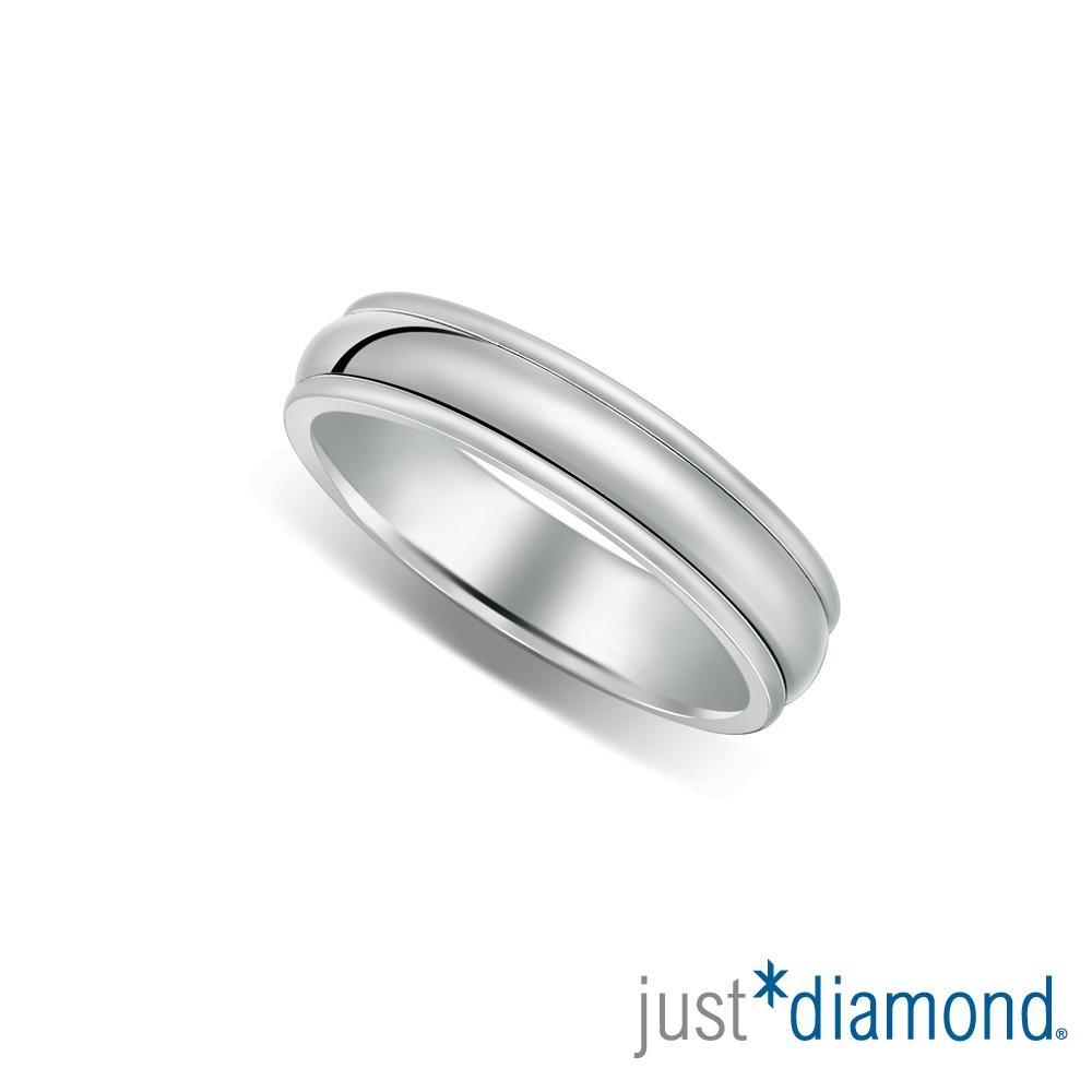 Just Diamond戀人私語男女對戒-寬版(男戒)