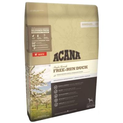 ACANA愛肯拿-無榖單一蛋白低敏-美膚鴨肉歐肯納根梨 11.4kg