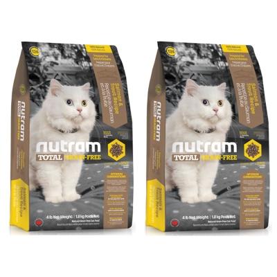 Nutram紐頓 T24無穀貓 鮭魚配方 貓糧 6.8公斤 x 2包入