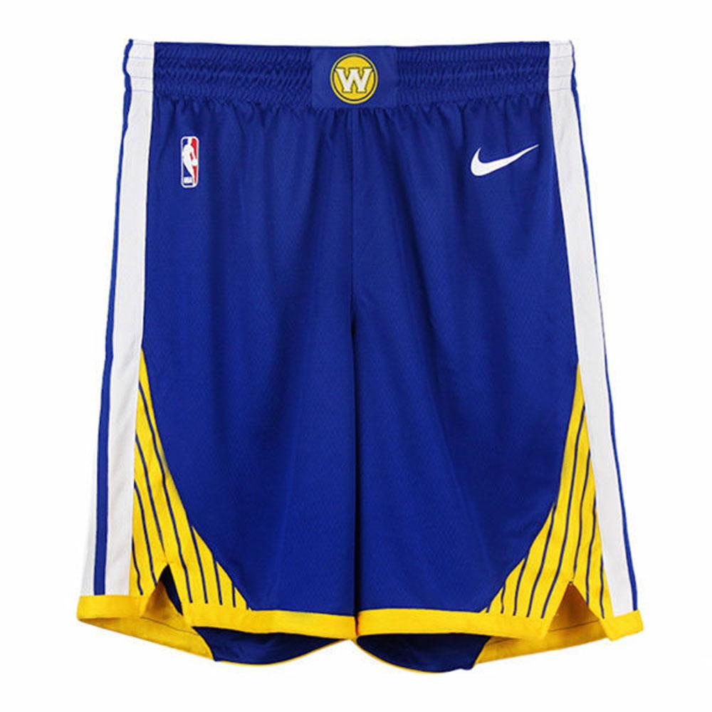 Nike 男 GSW SWGMN SHORT ROAD 籃球短褲