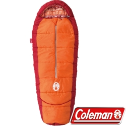 Coleman  CM-27271_橘 人形兒童可調式睡袋/適溫4度
