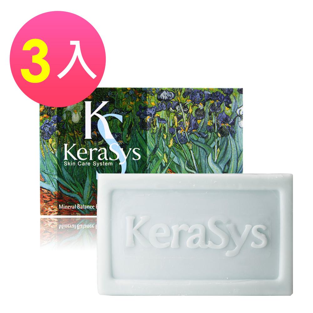 KERASYS可瑞絲 曠世名畫精油皂3入-葡萄柚橄欖海洋深層水(100g)