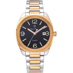 奧柏表 Olym Pianus 聚焦經典石英腕錶-雙色x黑  5706MSR