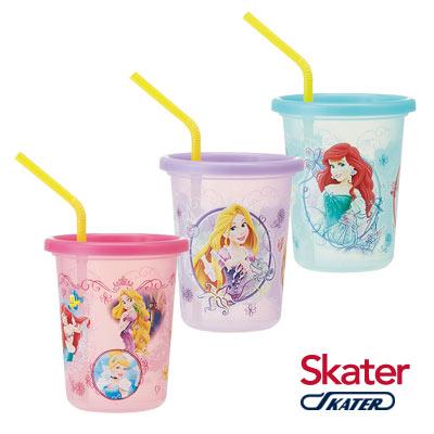 Skater日本製3入水杯(320ml)迪士尼公主