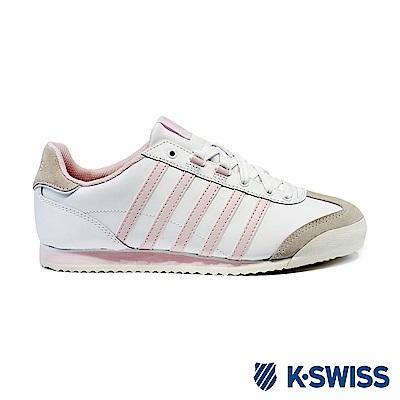 K-swiss Hoke Eva休閒運動鞋-女-白/粉紅