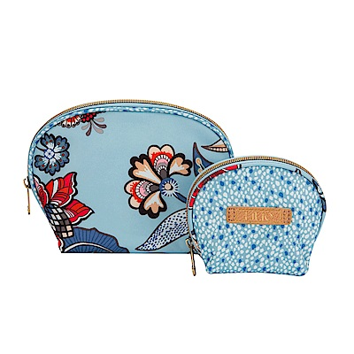 LiliO  收納包 印度藝術植  Cosmetic Bag Package Wedgew
