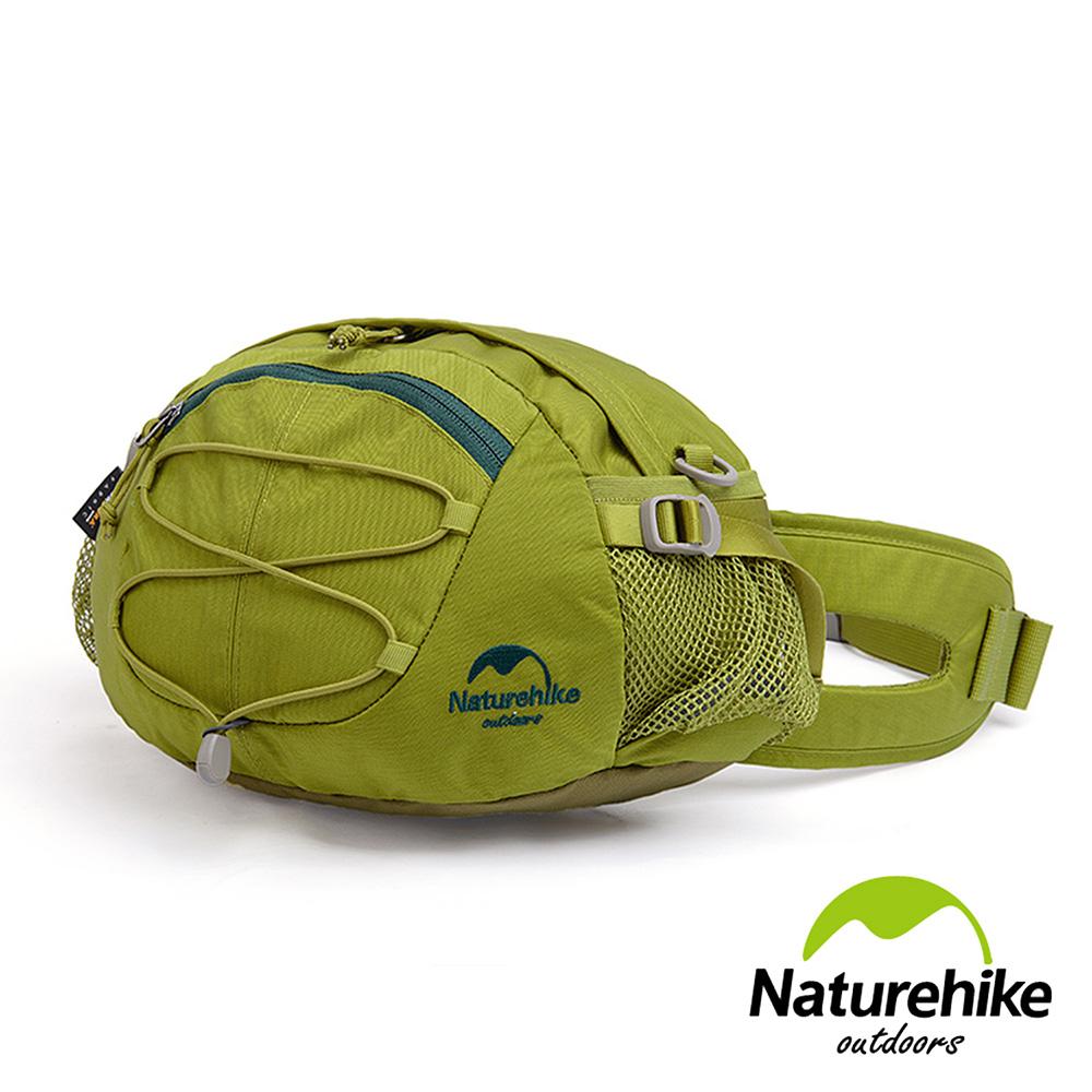 Naturehike 8L輕量耐磨CORDURA亮彩多功能腰包 肩背包 提包 綠色