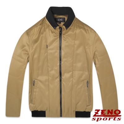 ZENO 鋪棉外套保暖韓風潮流款‧金色