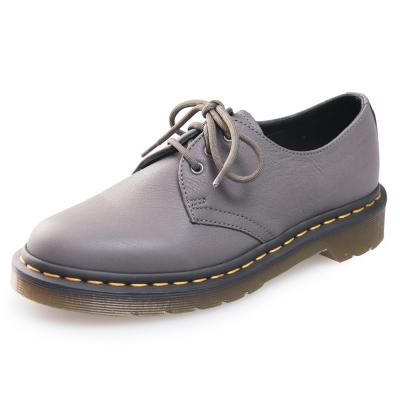 (女)Dr.Martens 1461 經典3孔馬汀鞋-灰色
