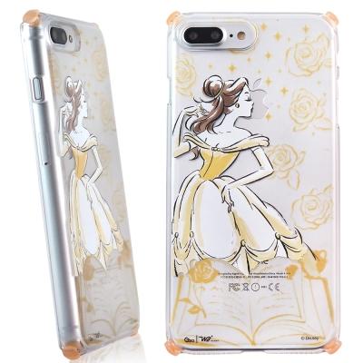 Disney迪士尼iPhone 7 Plus Wakase輕薄減震防摔殼-手繪系...