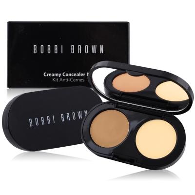 BOBBI BROWN 專業完美遮瑕組(遮瑕霜1.4g蜜粉餅1.7g#Warm Beige