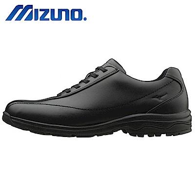 Mizuno WAVE LD40 IV 男寬楦健走鞋 B1GC161709