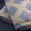 OLIVIA  湯瑪士 藍  5尺X6尺 100%精梳純棉夏日涼被