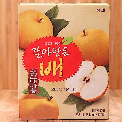 韓國HAITAI 水梨汁(238mlx12入)