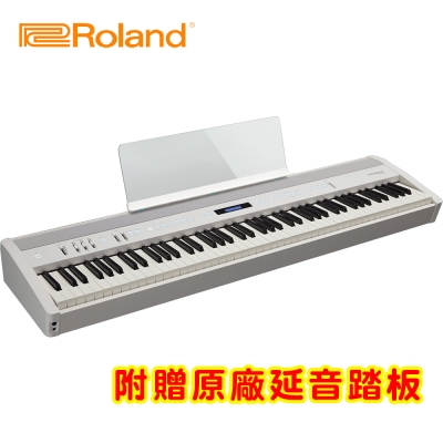 ROLAND FP60 WH 88鍵數位電鋼琴 時尚白色款
