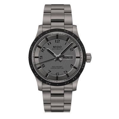 MIDO 美度Multifort鈦金屬先鋒機械錶 銀灰 40mm