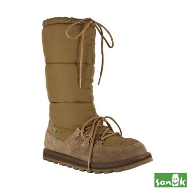 SANUK 防水機能長筒雪靴-女款(褐色)