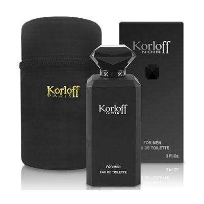 Korloff 黑鑽神話 男性 (PRIVATE) 淡香水88ml+包包